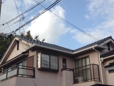 H様邸屋根瓦葺き替え工事