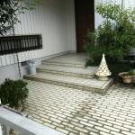 姫路市F様邸 玄関タイル張替工事完了しました