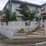姫路市H様邸 外壁塗装工事完成しました。