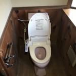 たつの市T様邸 トイレ改装工事完成しました。