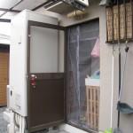 姫路市K様 勝手口サッシ交換工事完成しました。