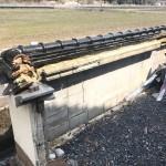 宍粟市K様邸 塀の瓦補修工事の施工中継です。