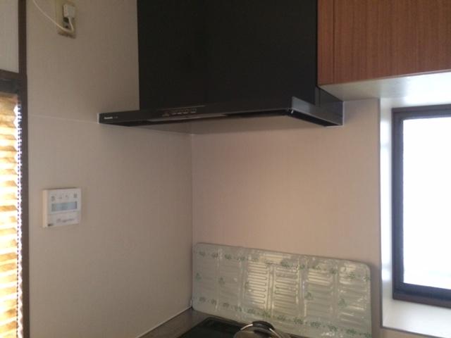 キッチン換気扇の交換