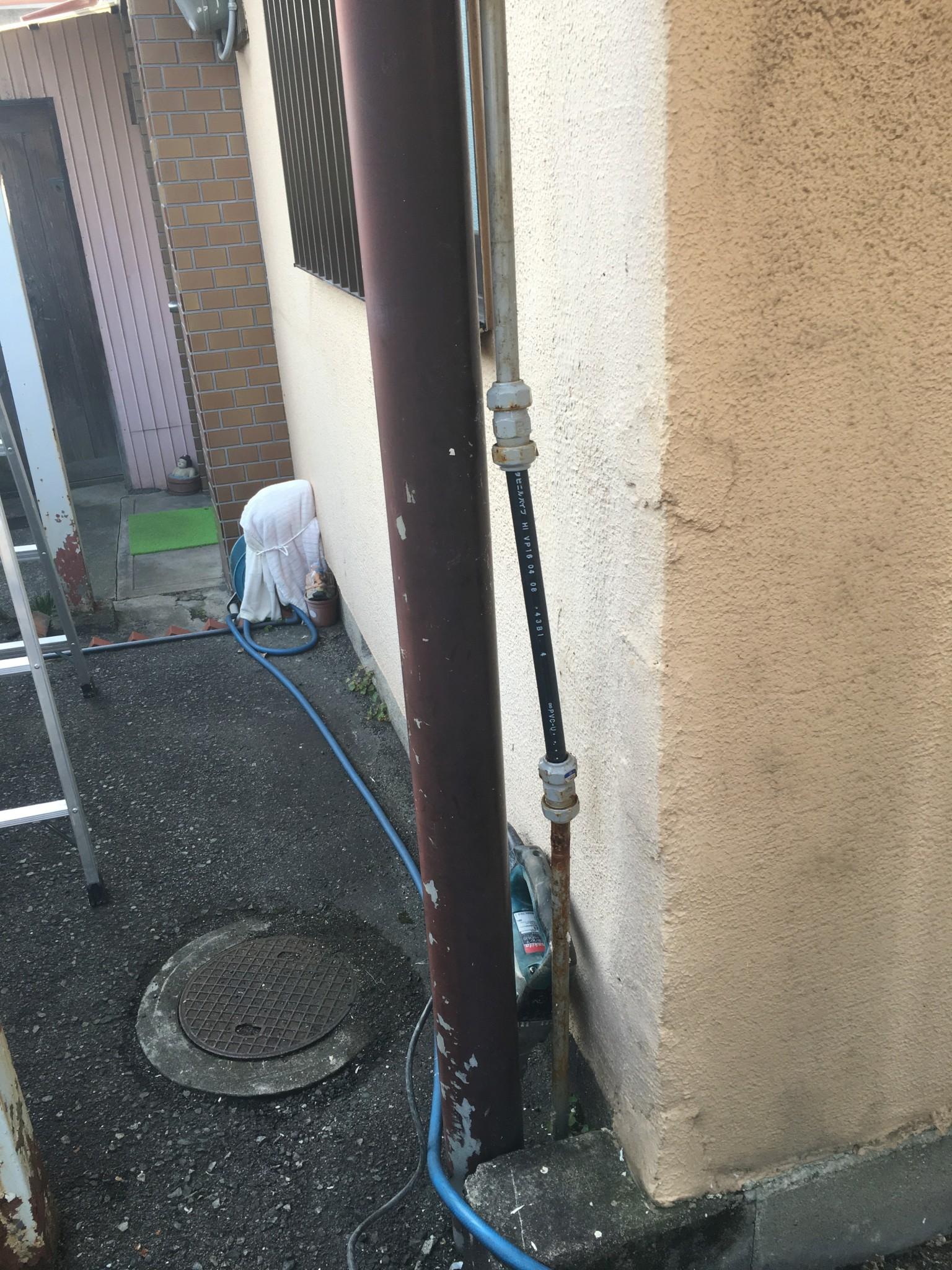 給水配管の改修