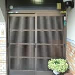 姫路市 K様邸玄関ドア取替工事完成しました。