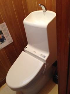 N様邸便器、洗面台取替工事