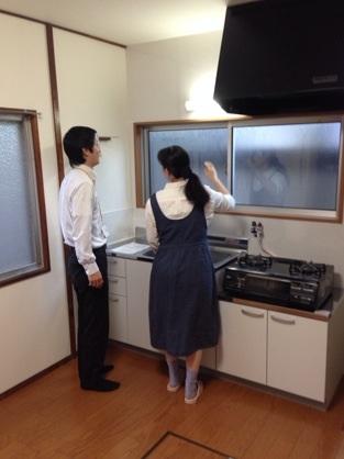 H様邸キッチン改装工事