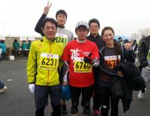 マラソン完走しました!