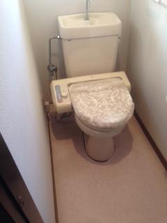 トイレの取替え工事
