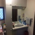 姫路市Y様邸 洗面台工事完成しました