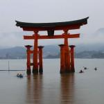 厳島神社の大鳥居のびっくり構造