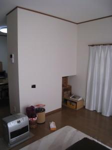 キッチンコーナー収納(裏)1