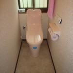 高砂市K様邸 トイレ改装工事完成しました。