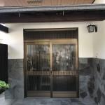 姫路市F様邸 玄関引き戸工事完成しました。