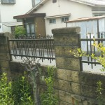 姫路市O様邸 外構塀改修工事完成しました。