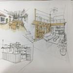 モリシタのピカイチ設計士によるパース描き