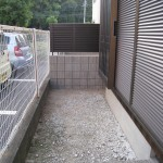 姫路市T様 境界塀工事完成しました。