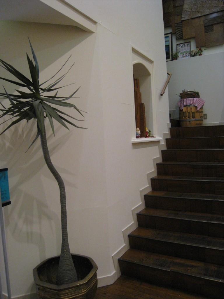 階段上り口11