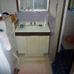 姫路市O様邸 洗面所改装工事完成しました。