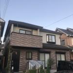 姫路市T様邸 外装工事完成しました。
