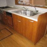 姫路市H様邸 キッチンフロアキャビネット交換工事完成しました。