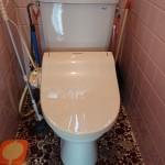 姫路市M様邸 便器便座交換、浴室シャワー水栓交換完成しました。