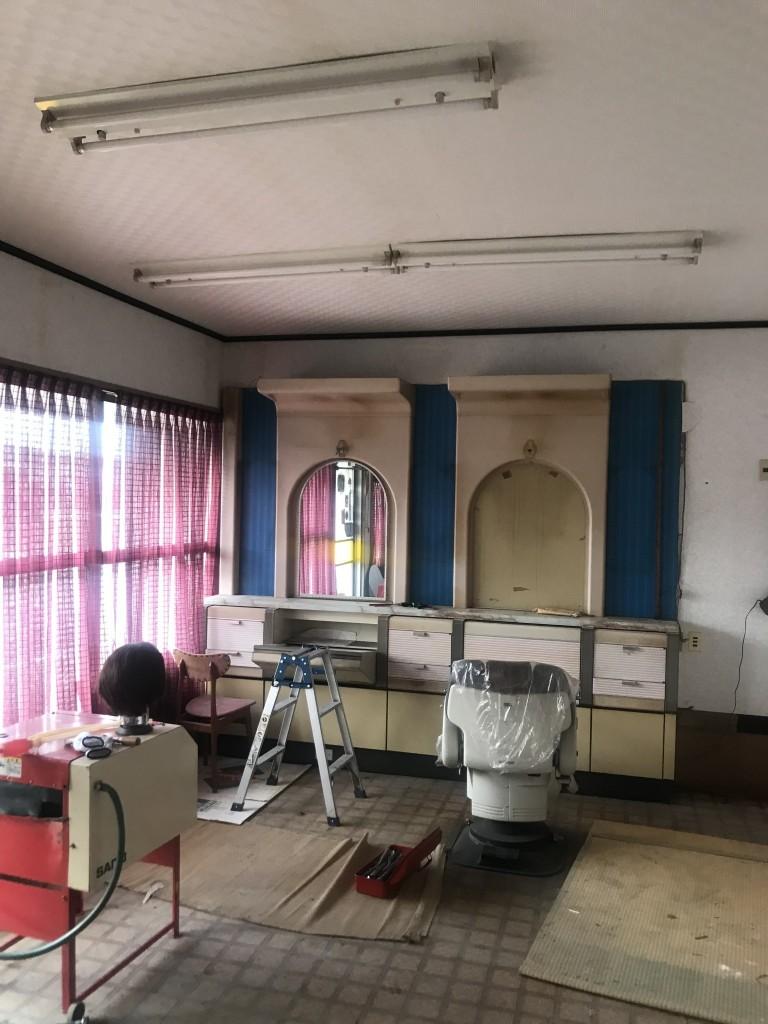 キッチン施工前1