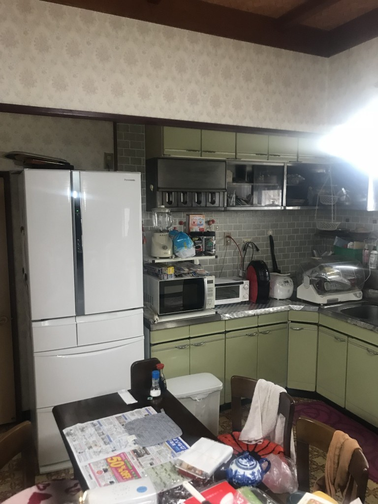 キッチン施工前3