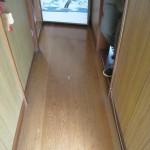 姫路市H様邸 床フロア、洋室天井クロス工事完成しました。