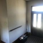 姫路市D様邸 玄関に調湿壁材を施工しました。