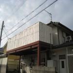姫路市S様邸 ベランダ笠木工事完成しました。