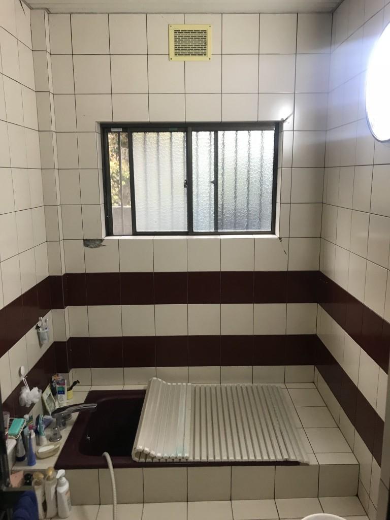 浴室施工前1