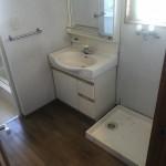 太子町D様邸 洗面室工事完成しました。