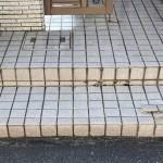 姫路市H様邸 玄関タイル張り替え工事完成しました。