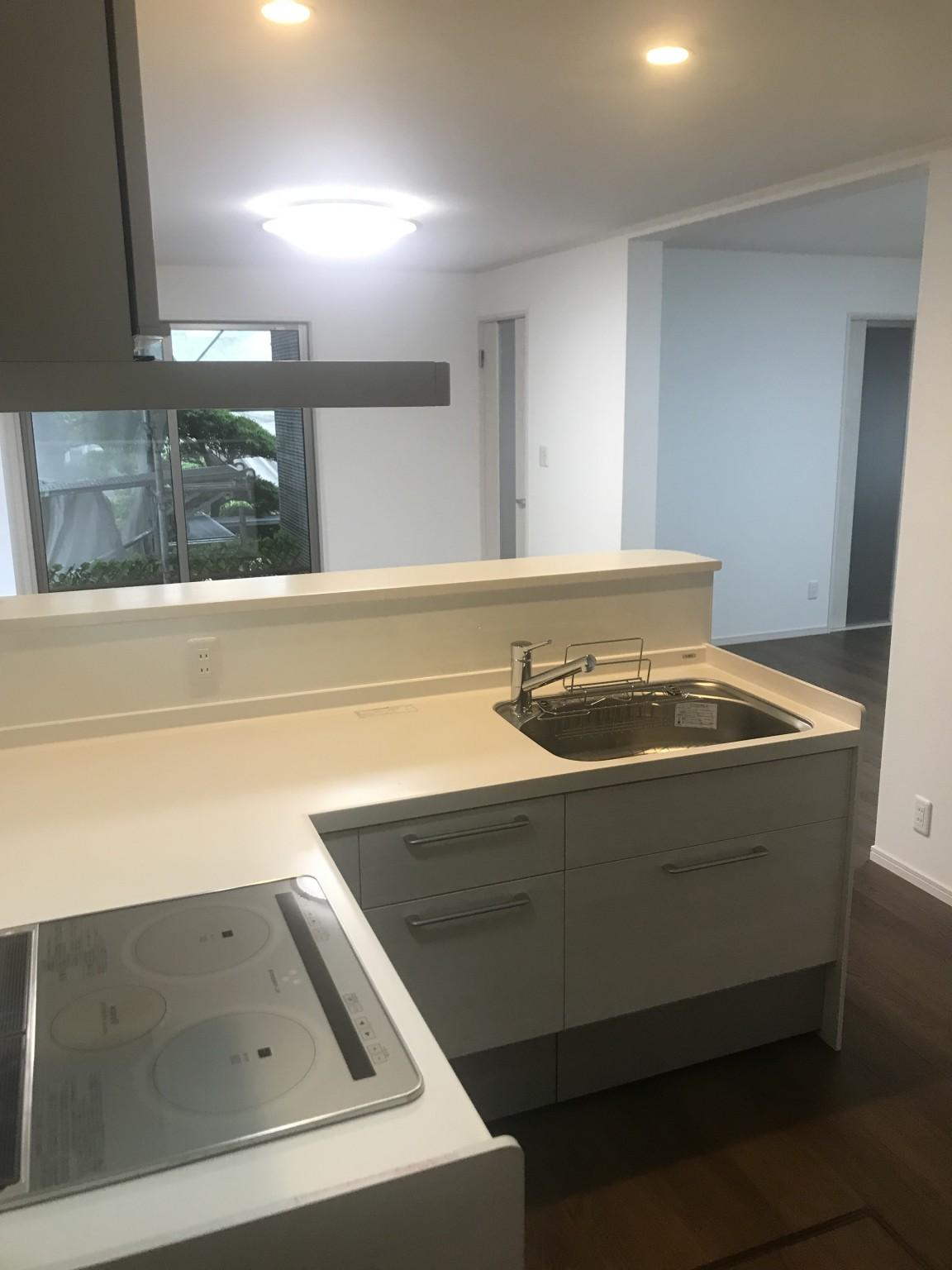 キッチン施工後1