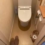 姫路市O様邸 トイレ取替、床クッションフロア張替工事完成しました。