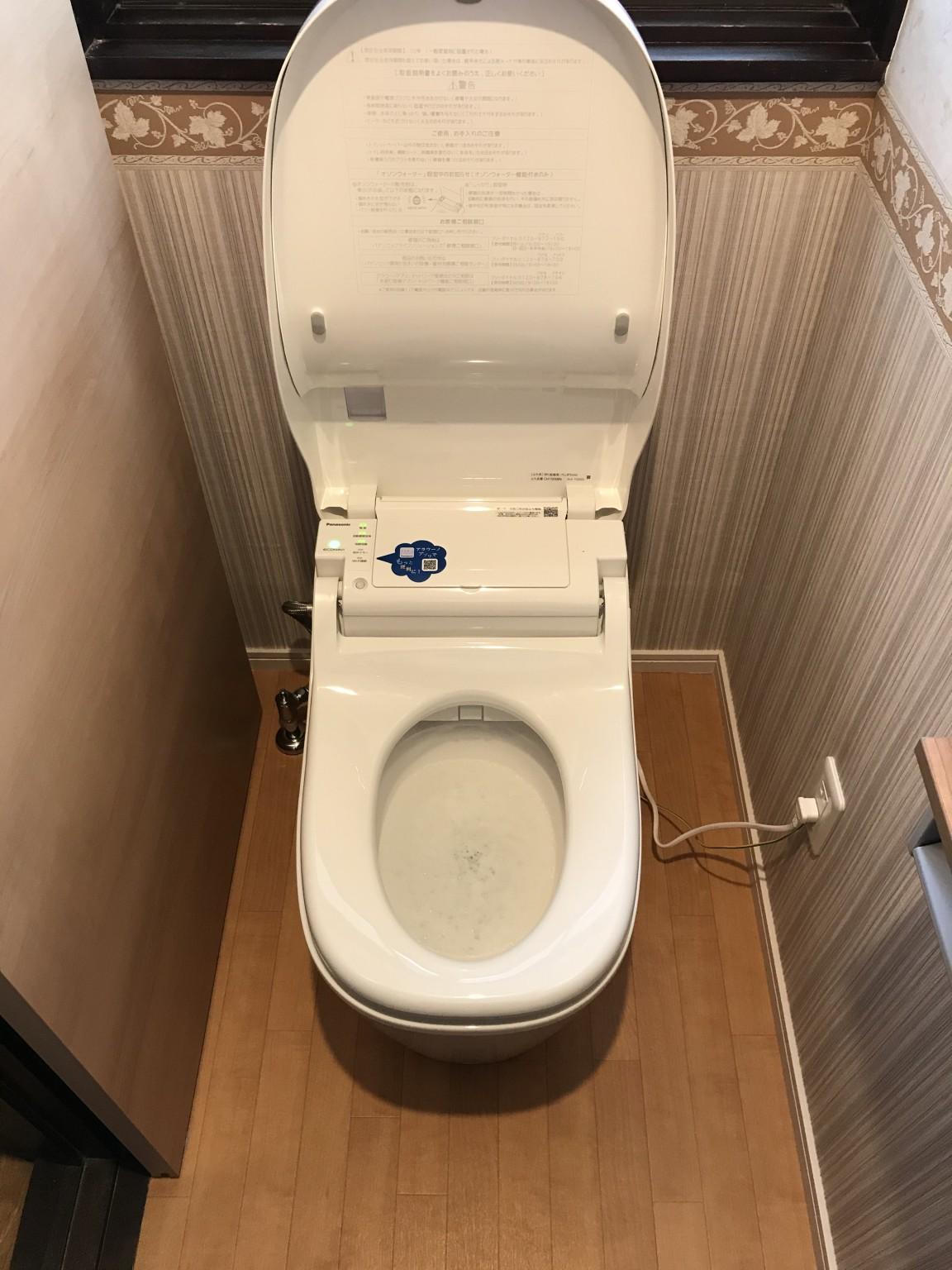 トイレ施工後3