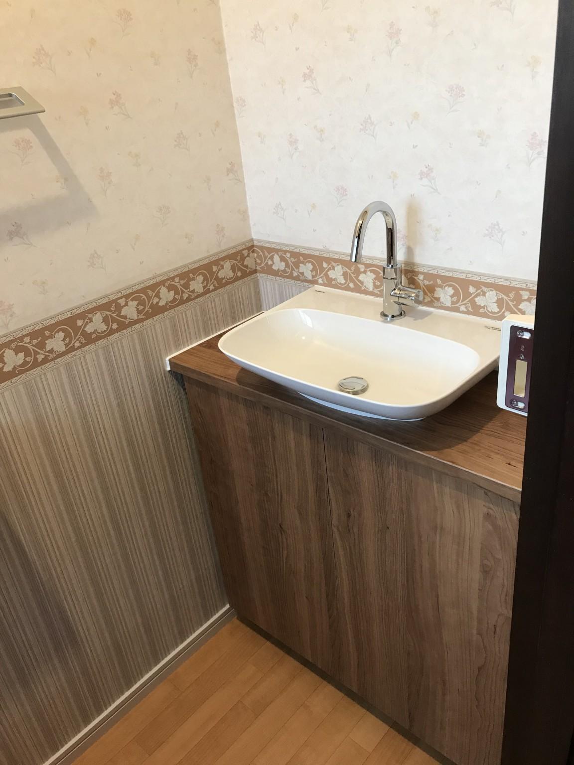 トイレ施工後5