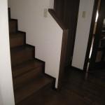姫路市M様邸 階段手摺工事 完成しました。
