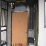 姫路市 I 様邸 玄関サッシ 完成しました。