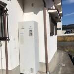 姫路市S様邸 電気温水器工事完成しました。