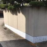 塀と車庫の塗装工事が完成しました!