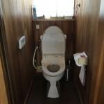 姫路市S様邸 トイレ改装工事完成しました。