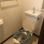 トイレの入れ替えとキッチン・洗面所の床の張替え工事が完成しました!